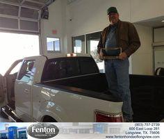 #HappyBirthday to Don Ferguson from Everyone at Fenton Honda of Longview!
