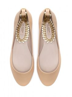 Zara Ballerina With Ankle Strap, £25.99 - Flat shoes - Woman And Home