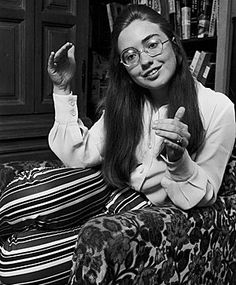 Yep, Hillary Clinton was absolutely a college kid of the 1960's.