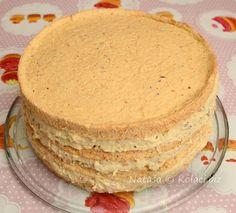 Cake Roll Recipes, Dessert Recipes, Jednostavne Torte, Torte Recepti, Nutella Cheesecake, Croatian Recipes, Rolls Recipe, Creative Food, Vanilla Cake