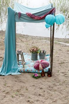 bohemian getaway.... wherever my honeymoon is... I want this.