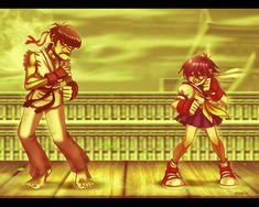 Street Fighter Gorillaz Style by EddieHolly on DeviantArt