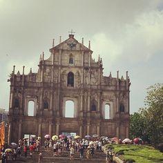 Ruins of St. Paul's Church, Macau