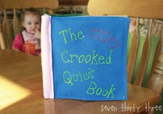My {Crooked} Quiet Book
