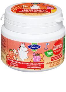 Xylimax Moomin purkki 90 g    lapset käyttää päivittäin. näitä kuluu.   näitä juuri saatu iso satsi joten toive hetken aikaa tauolla. Moomin, Nutella, Iso, Troll, Product Design, Psychics