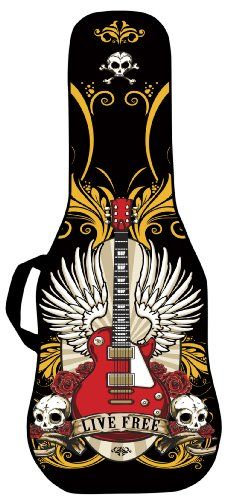 Boldface Electric Guitar Custom Printed Gig Bag Case with Replaceable Face Panel. Swap Face Panels to Change Your Bag Design. Graphic Design for this Gig Bag Face Includes a Live Free Gig Bag Image. Boldface http://www.amazon.com/dp/B00HF64A7G/ref=cm_sw_r_pi_dp_fPtgub192V8VR