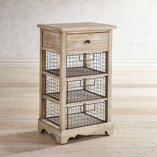 Westview Wire Basket Storage Chest
