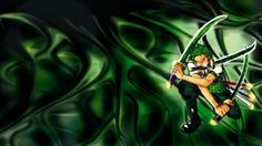 Green piece one piece anime HD Wallpaper