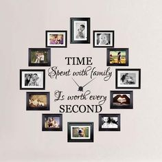 Time Spent with Family is Worth Every Second Wall Decal.jpg