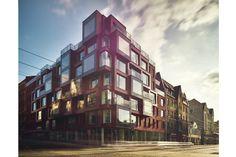 Red Ice | Architect Magazine | NRJA, Riga,, Latvia, Multifamily, Commercial, New Construction