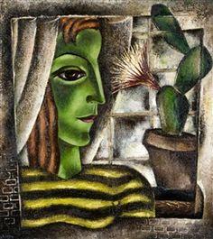 REIMOND KIMPE Femme au Cactus