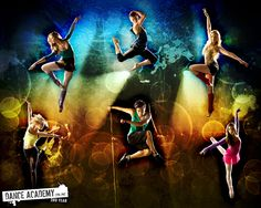 Xenia Goodwin, Alicia Banit, Dena Kaplan, Issi Durant, Tom Green and Jordan Rodrigues for Dance Academy