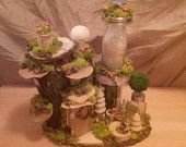 OOAK Fairy House: Acorn Manor