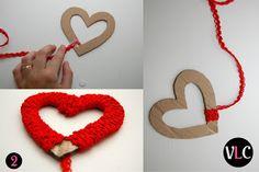 Vida Louca de Casada: Faça você mesmo: móbile de coração!