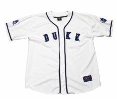 Vintage 90s Duke Blue Devils Baseball Jersey Mens Size XL $30.00