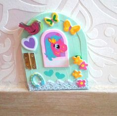Fairy Doors, Birthday Candles, Etsy, Home Decor, Blue Angels, Fairy, Interior Design, Home Interior Design, Home Decoration