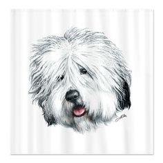 CafePress Sweet Sheepie Throw Blanket in Home & Garden, Bedding, Blankets & Throws Fidget Blankets, Baby Blankets, How To Wear A Blanket Scarf, Bearded Collie, Old English Sheepdog, Cartoon Dog, Dog Paintings, Dog Art, Painted Rocks