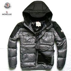 Cheap Wholesale New Moncler Mens Down Jakets Grey - $200.60 Moncler Down Jackets Outlet by www.monclerlines.com/men-moncler-jacket-c-1.html
