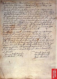 Page 2 of Anne Boleyn's Letter to King Henry VIII from the Tower of London, 6 May 1536.