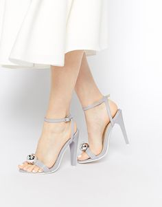 ASOS+HIT+ON+Heeled+Sandals