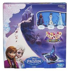 Pin for Later: 24 Frozen Toys to Carry Your Elsa- and Anna-Lovers Away to Arendelle Disney Pop-Up Magic Frozen Game Disney Pop, Frozen Disney, Disney Frozen Crafts, Frozen Pop, Disney Themed Games, Disney Games, Frozen Princess, Disney Princess, Princess Anna