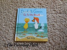'Duck & Goose Go to the Beach' Book Review | Parenting Patch