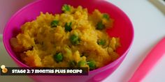 INDIAN BABY FOOD RECIPE – STAGE 2: 7 MONTHS PLUS Indian influenced potato pie lightly flavoured with lots of traditional, fragrant spices.  – SuperFoods included: white potato, sweet po…
