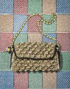#MMissoni | SS 15 | Melange Raffia Bag |
