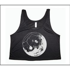 Women's Geomoon Boxy Crop Tank Sacred Geometry Dodecahedron Moon Phase ($22) ❤ liked on Polyvore featuring tops, tanks, white, women's clothing, crop tank, cropped tank tops, white top, cut-out crop tops and white crop tank