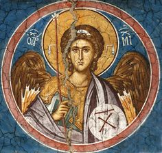 Whispers of an Immortalist: Holy Angels 5 Religious Pictures, Religious Icons, Religious Art, Byzantine Icons, Byzantine Art, Fresco, Order Of Angels, Monastery Icons, Greek Icons