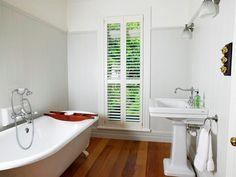 Resene Eighth Stack in bathroom