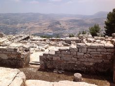 Mount Gerizim: When the Lord your God has brought you into the land that you are entering to occupy, you shall set the blessing on Mount Gerizim and the curse on Mount Ebal. As you know, they are beyond the Jordan, some distance to the west, in the land of the Canaanites who live in the Arabah, opposite Gilgal, beside the oak of Moreh. When you cross the Jordan to go in to occupy the land that the Lord your God is giving you, and when you occupy it and live in it -Deuteronomy 11:29-31(NRSC)