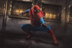 """Das Bild ist noch von der DoCon.  Oft geht es mir so daß ich meine """"alten"""" Bilder nicht mag. Aber es gibt einige Ausnahmen so wie dieses Bild!  Da ich das Foto vor einem eher unpassenden Hintergrund fotografiert habe musste ich hier den Hintergrund komplett tauschen. Aber es hat sich gelohnt   Ich möchte den neuen Spiderman total gerne umso mehr habe ich mich über dieses genial umgesetzte Cosplay gefreut.  Cospaly: the amazing @kevinwoodpecker  Event: DoCon2017  #spiderman…"""