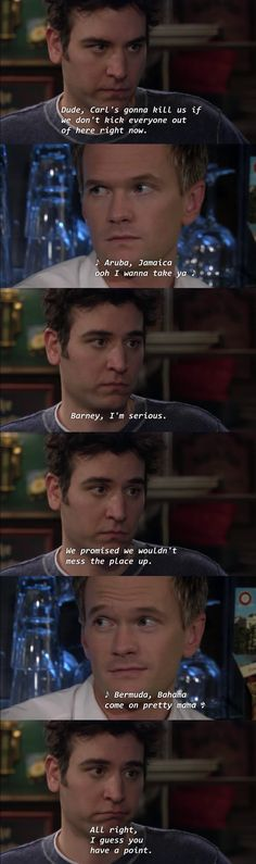 Find images and videos about how i met your mother, himym and Barney Stinson on We Heart It - the app to get lost in what you love. How I Met Your Mother, Tv Quotes, Movie Quotes, Funny Quotes, Life Quotes, Funny Scenes, Friendship Quotes, Funny Friendship, Film Serie