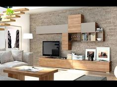Modern Tv Wall Unit Designs for Living Room - Modern Tv Wall Unit Designs for Living Room , Tv Unit Design Inspiration for Your Home — Best Architects Modern Tv Units, Lcd Panel Design, Wall Unit Designs, Ultra Modern Furniture, Living Room Wall Units, Cabinet Design, Interior Design Living Room, Living Room Designs, Living Room Tv