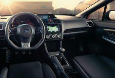 2015 subaru wrx dash interior
