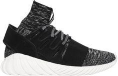 "Price:€ 160.00   Adidas Originals Tubular Doom Primeknit & Suede Sneakers   For more details click ""Visit"""