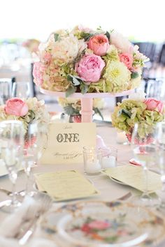 Top 15 Peony & Candle Centerpieces – Cheap Easy Design For Unique Spring Day Party - Homemade Ideas (15)