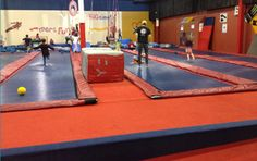 Big Time Trampoline Fun Center Arvada, CO.  Happy 5th birthday andrew!!!