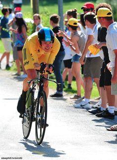 Stage 9: Arc-et-Senans → Besançon, 41.5 km (TT) - Bradley Wiggins (Sky) delivered what he called his best time-trial performance