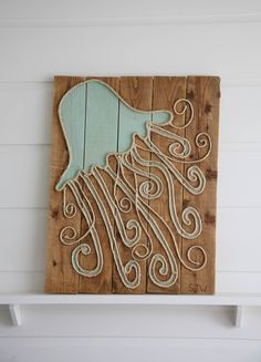 "Jellyfish 36"" x 28"" | M Street Artwork"