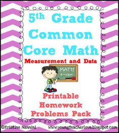 5th grade common core math benchmark assessment all standards 5th grade math review or homework problems measurement and data md test prep fandeluxe Gallery
