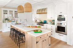 """You've finally decided it's time to say """"goodbye"""" to those laminate countertops and that puny white refrigerator. Here's how a professional kitchen designer can help make the kitchen you've envisioned come to life China Kitchen, Kitchen Redo, Kitchen And Bath, New Kitchen, Kitchen Design, Kitchen Cabinets, Kitchen Ideas, Kitchen Island, Kitchen Post"""