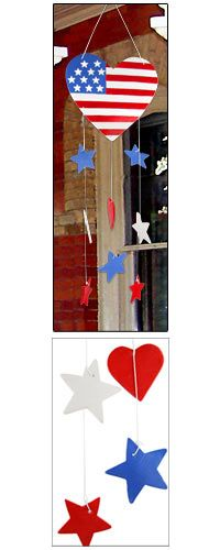Star Spangled Ceramic Wind Chime: ON SALE NOW! Just in time for the 4th, show your patriotic pride with this array of hearts and stars cascading from a heart-shaped flag, now only $10! Sale ends 7/1 11:59 PM PT. Plus, your purchase provides a meal for a homeless and hungry veteran.