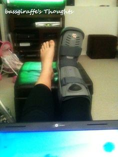 Ten Weeks and Counting (A story of the ruptured Achilles tendon) pt. 5