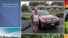 Congratulations James and Deborah Clarke!  A heartfelt thank you for the purchase of your new Subaru from all of us at Premier Subaru.   We're proud to have you as part of the Subaru Family.