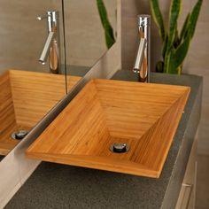 Bambusmöbel eignen sich perfekt auch für Badezimmer