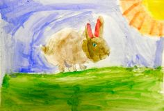 Pintura a l'aiguada d'alumna de 1r curs Painting, Color, Art, Pintura, Art Background, Painting Art, Paintings, Kunst, Colour