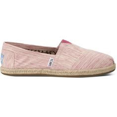 TOMS Pink Space Dyed Women's Classics