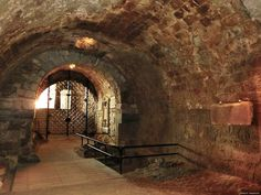 Dungeons of the Dreadfort - Eger, Hungary Sure is nice and bright for a dungeon.